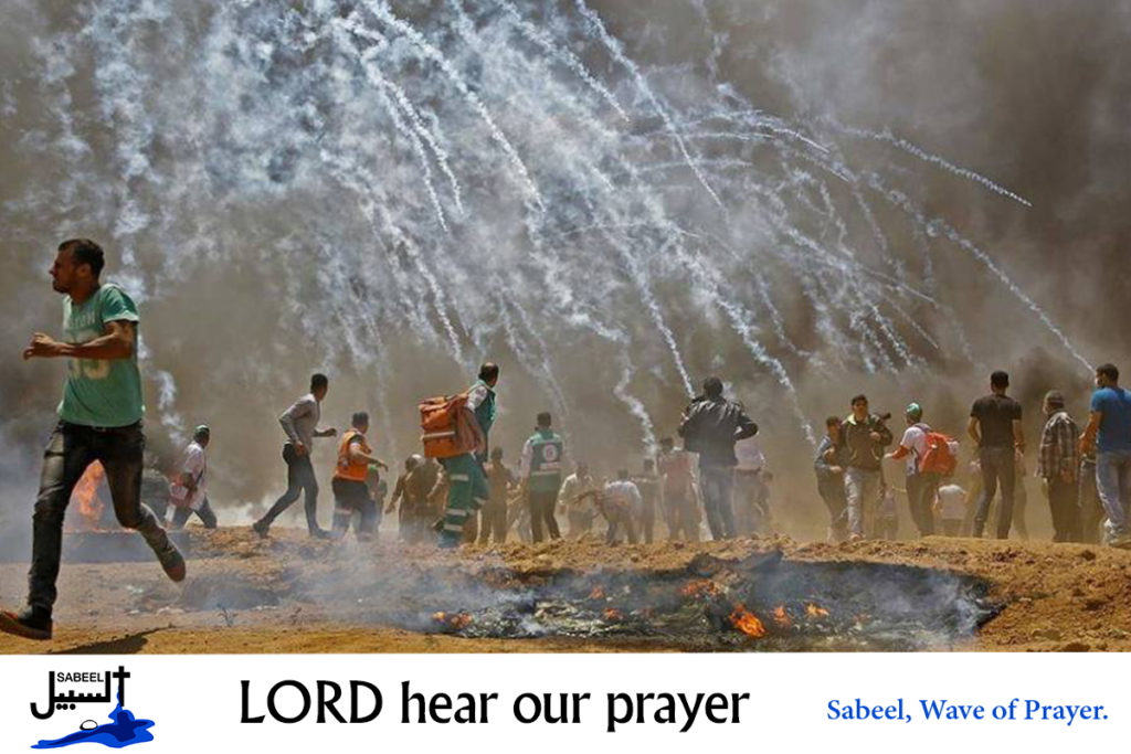 Wave of Prayers – Sabeel, Ecumenical Liberation Theology Center